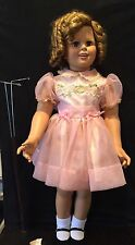"35"" Inch Shirley Temple Doll By Danbury Mint 2nd Outfit &Stand MIB"
