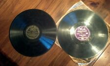 2pc 78 rpm Records Benny Goodman String of Pearls Tommy Dorsey Orchestra Danube