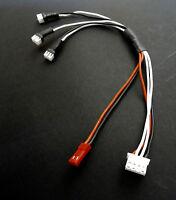 E-Flite Blade MCPX 3-fach Ladekabel JST JST-XH Balancer Stecker Lipo Akku Kabel