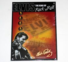 ELVIS PRESLEY King of Rock & Roll MEMO BOARD + MAGNETS