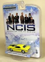 Greenlight 1/64 Scale NCIS Gibb's Dodge Challenger Yellow Diecast  Model Car