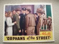 Orphans of the Street; Robert Livingston; 1938