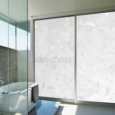 Privacy Door Window Glass Film Sticker Static Cling 3D Frosted Anti-UV