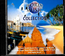 CD World Of Music Collection caribbean greece hawaii africa russia spain italy