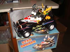 "SON AI ""STAR CRUISER""~ VINTAGE ROBOT DRIVEN SPACE CAR IN ORIGINAL BOX! WORKING!!"