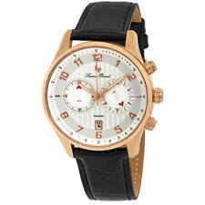 Lucien Piccard Navona GMT Chronograph Men's Watch 11187-RG-02S