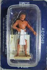 AEG049 - FIGURA EGIPCIA  DE PLOMO  - DEL PRADO
