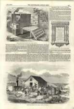 1855 Newly Invented Drying Closet For Hospital Scutari Washing Duties Balaklava
