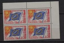 V18* Lot x4 timbres Service CONSEIL DE L'EUROPE n°30 (Neuf**MNH TBE) 1963-1971