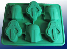 STAR WARS BOBA FETT SILICONE ICE TRAY MOLD CANDY CHOCOLATE Bake Party