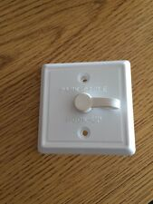 JR Products Square Cable TV Plate (White) for RV / Camper / Trailer / Motorhome