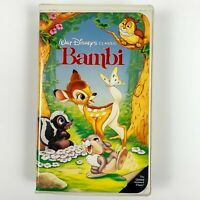 Bambi (VHS,1989) Disney's Black Diamond Collection #942 Limited Edition