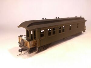 BALBOA BRASS HOn3 FIDDLETOWN & CROOKED CREEK Amador Co. Passenger Business Car
