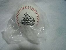 WISCONSIN RAPIDS RAFTERS BASEBALL SEALED Bull's Eye Credit Union,roscoe p.rafter