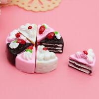 10pcs Puppenhaus Miniatur - Küche Kuchen DIY Handwerk spielzeug
