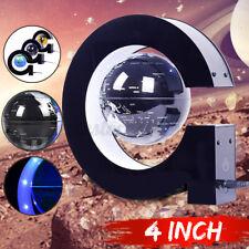 G-Shape Magnetic Levitation Floating Globe World Map LED Night Light Home  % c