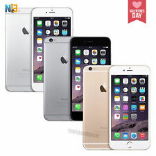 Apple iPhone 6 & 6Plus 16 & 64GB Smartphone-Black-White-Gold-Grade A+++