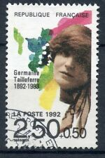 STAMP / TIMBRE FRANCE OBLITERE N° 2752 GERMAINE TAILLEFERRE