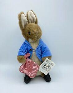 """Rare Vintage 1993 Limited Edition Beatrix Potter Peter Rabbit 11"""" Plush Eden"""