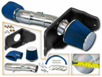 BLUE COLD AIR INDUCTION INTAKE KIT+ DRY FILTER FOR FORD 05-09 Mustang GT 4.6L V8