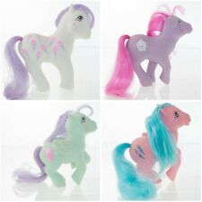 Vintage My Little Pony G1 Lot Scoops Banana Surprise Peppermint Crunch Firefly