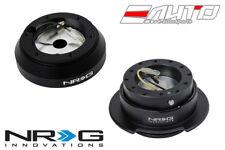 NRG Steering Wheel Short Hub SRK-160H + Black Gen2.5 Quick Release w/ Black Ring