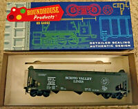 HO scale Roundhouse Scioto Valley Lines 3 bay hopper Mid central ltd SVI 7273