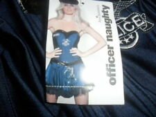 "ANN SUMMERS ""OFFICER NAUGHTY"" FANCY DRESS COSTUME SIZE 22 NWTS"