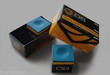 4 Pieces - OB Pool Chalk - BLUE -  OB Cue Premium Quality Billiard Chalk