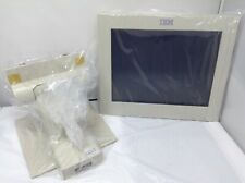 "New Ibm 12"" Pos Monitor Display 4820-2Wd P/N:50Y6684 With Stand 41J7983 & Cables"