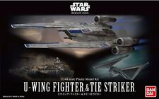 U-Wing & TIE Striker Modellbausatz 1/144 von Bandai, Star Wars: Rogue One