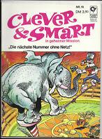 Clever & Smart Nr.19 von 1976 - TOP Z1 ORIGINAL ERSTAUFLAGE COMIC-ALBUM Condor