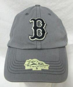 "Boston Red Sox Mens Size S M or L ""Cornerstone"" Baseball Cap Hat E1 951"