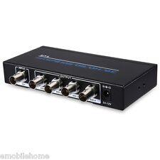 1 Input 4 Output SD / HD / 3G - SDI Signal Supported Splitter HD Video Converter