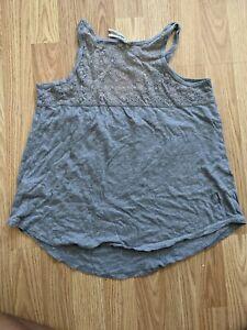 Aeropostale women's tank top Size medium lace