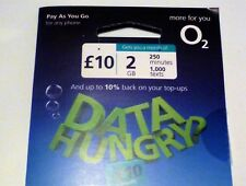 O2 Pay As You Go Sim Card Triple Cut Standard Micro & Nano Sim