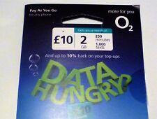 O2 pay as you go SIM standard di taglio triplo Micro & Nano SIM