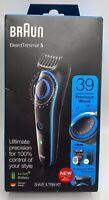 NEW Braun Beard Trimmer-5  , 39 Length Settings Shave & Trim Kit  -BT5240-Black