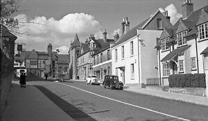B/W Negative Midhurst West Sussex Village Scene Shops Cars 1948 +INC © DB533