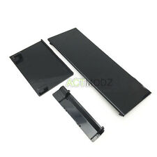 Gamecube Ports SD Card Slot Dust cover Chassis door frame for Nintendo Wii Black