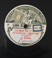 "RARE 78RPM 11"" FONOTIPIA LA GRAN VIA VALVERDE TENORE ZOFERDAL FERCOR DE NEMO"