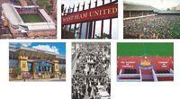 West Ham Utd The Boleyn Ground Upton Park Great New POSTCARD Set