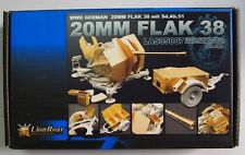 LionRoar PE Photo-Etched 1/35 WWII German 20MM FLAK38 for DML LAS35007