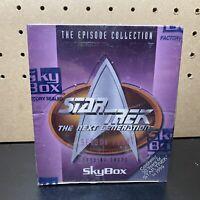 1996 STAR TREK: THE NEXT GENERATION - SEASON FOUR - NEW SEALED BOX - 36 Packs
