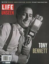 LIFE UNSEEN MAGAZINE SPECIAL: TONY BENNETT (2015) BRAND NEW - FREE SHIP!!