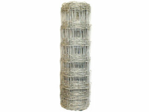 Stock Fencing 50 Meter Rolls Cow Sheep Stock Animal Farm Field Fencing