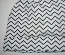 Baby Bery 00 - 0 Soft Cotton Black White Zig Zag Print Beanie Hat