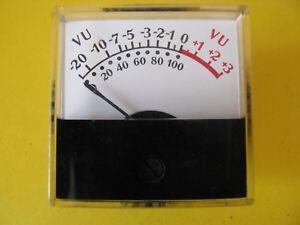 Vintage Meter Vu-Meter Jewell