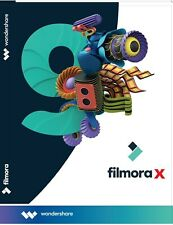 Wondershare Filmora 10 Video Editor Lifetime on DVD
