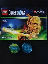LEGO 71239 - Dimensions - Ninjago / Lioyd - Fun Pack Game Discs only New